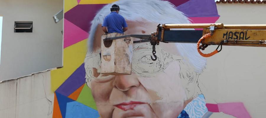 História de Itabirito retratada pelo grafite