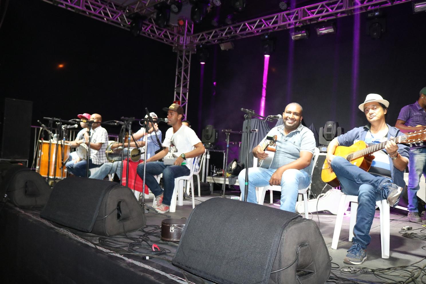 Evento foi mais uma oportunidade para as bandas locais (Créditos: SECOM/PMI)