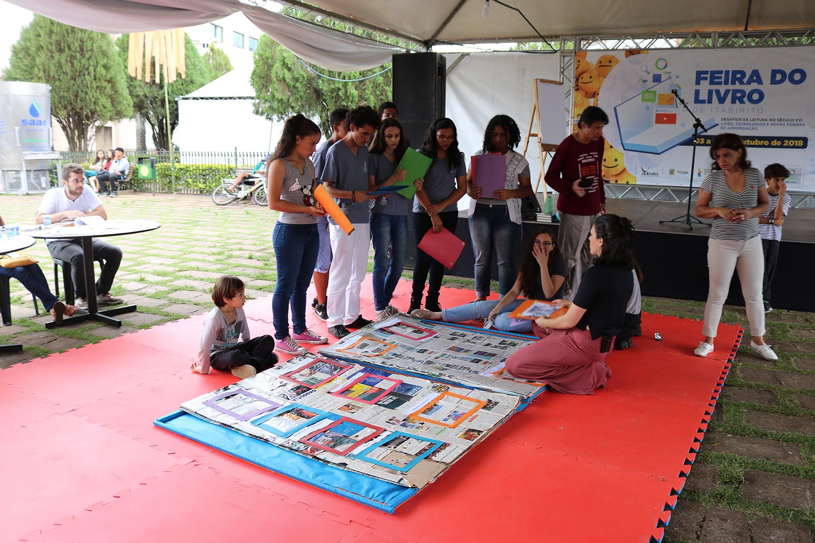 Jogos Literários foram destinados para jovens (Créditos: SECOM/PMI)