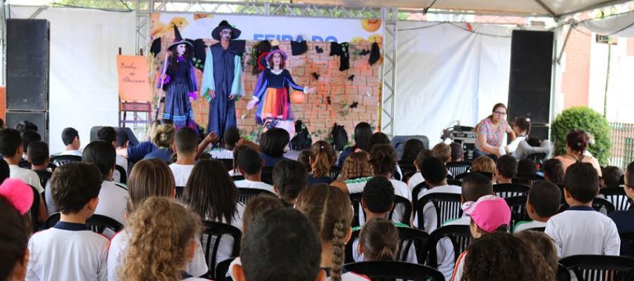 Feira do Livro promove a cultura da leitura em Itabirito