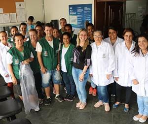 Servidores da Saúde de Itabirito recebem novos uniformes