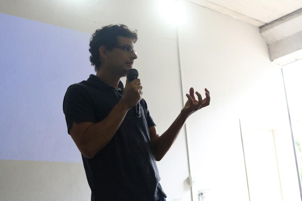 Palestra de Tiago Lopes Coelho foi um dos momentos de destaque da plenária  (Créditos: SECOM/PMI)