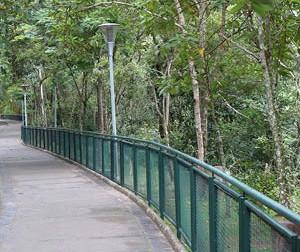 Mais segurança e proteção: Parque Ecológico ganha novas cercas