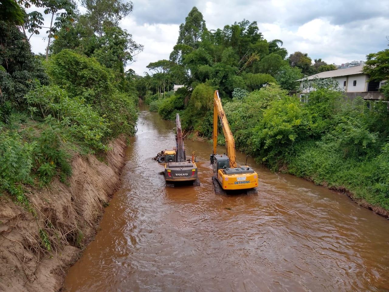 Desassoreamento do Rio Itabirito começou em outubro (PMI)