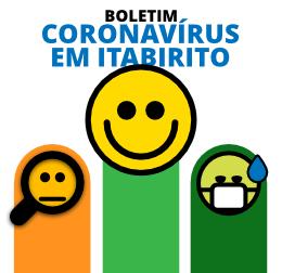 Números sobre o coronavírus em Itabirito